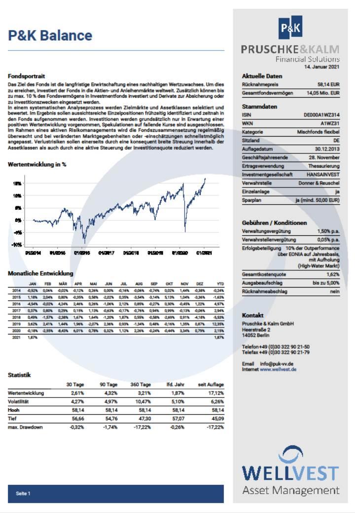 Informationsblatt P&K Balance
